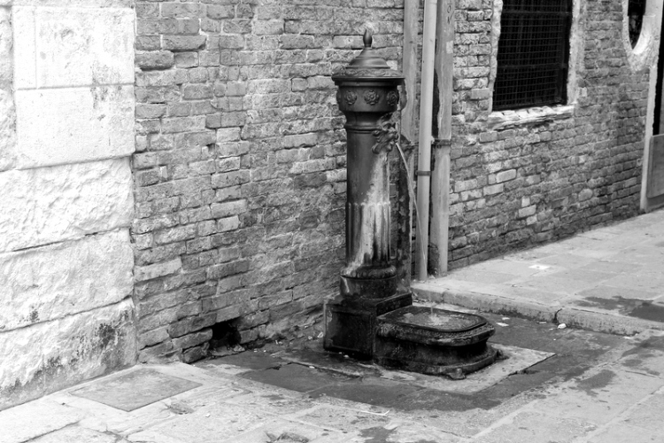 fresh water in Venice