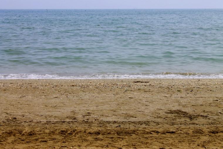 Lido Beach in Venice, Italy
