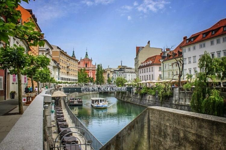 Ljubljana and the Ljubljanica River