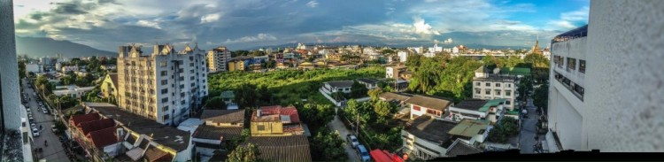 A panorama of Chiang Mai