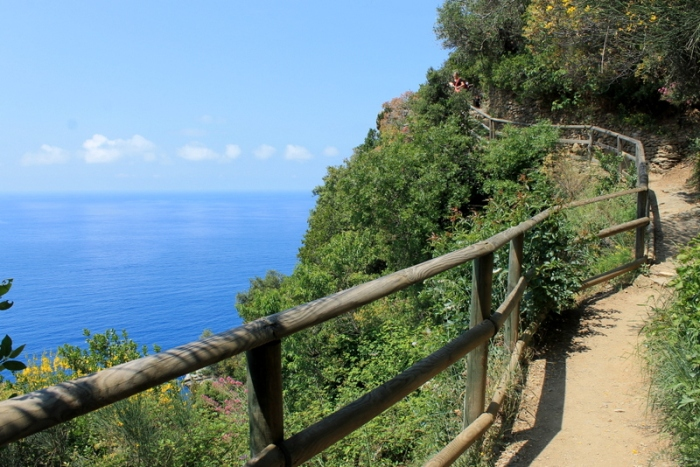 The hike from Vernazza to Monterosso