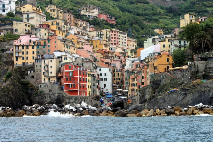 Cinque Terre from the ferry