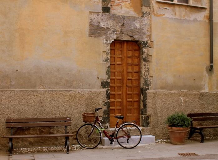 A bike in Cinque Terre
