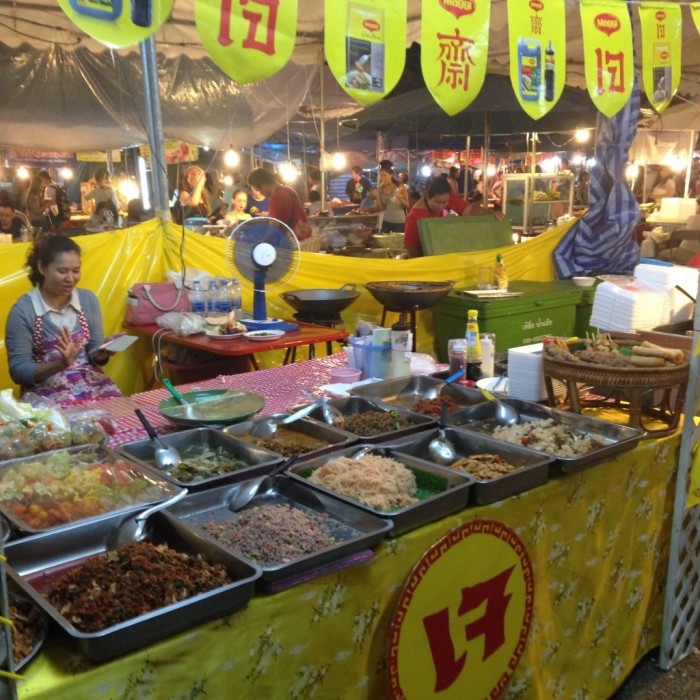 street food in Chiang Mai