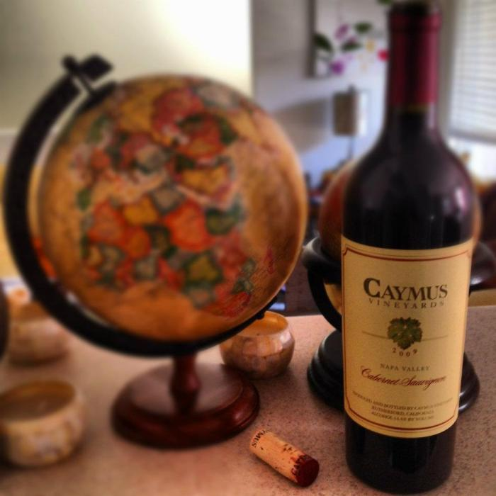 Caymus wine