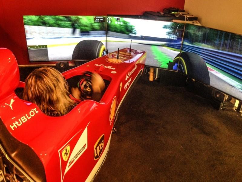 Driving a Ferrari ... simulator