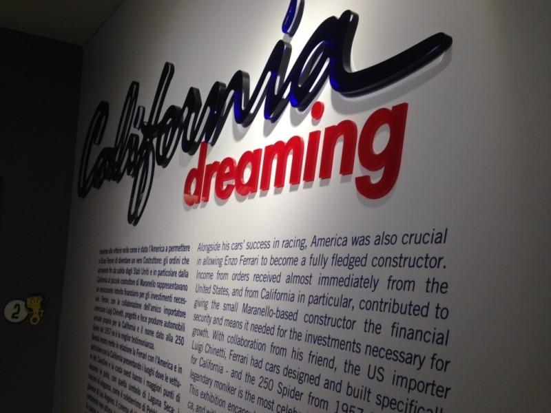 Ferrari California Dreaming