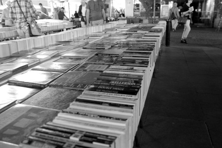 Southbank London Book Market