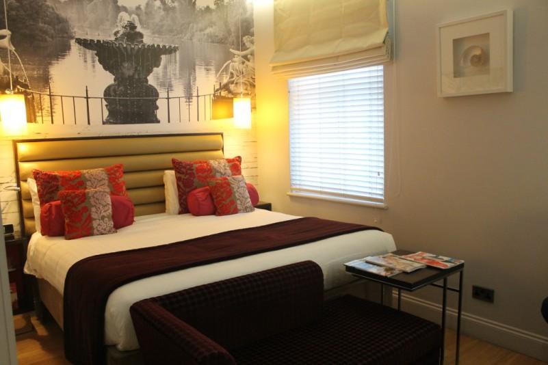 A room at London's Hotel Indigo