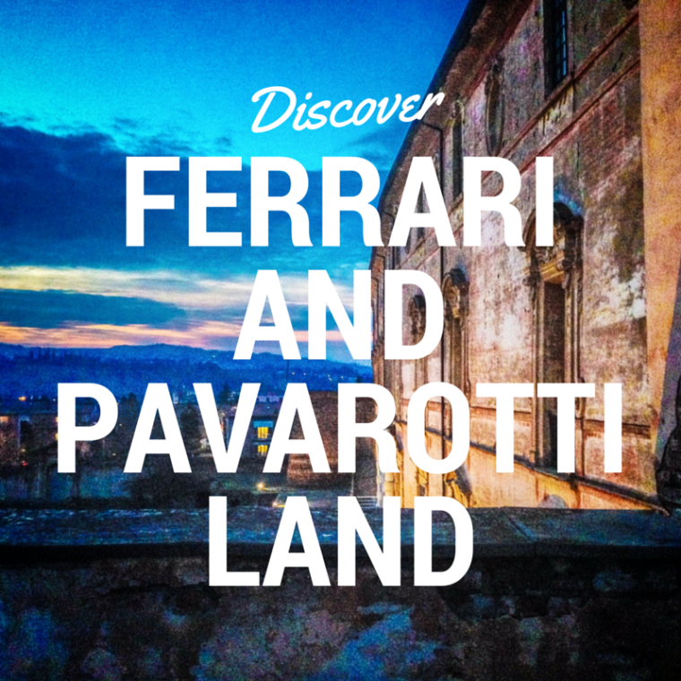 Discover Ferrari and Pavarotti Land, Italy
