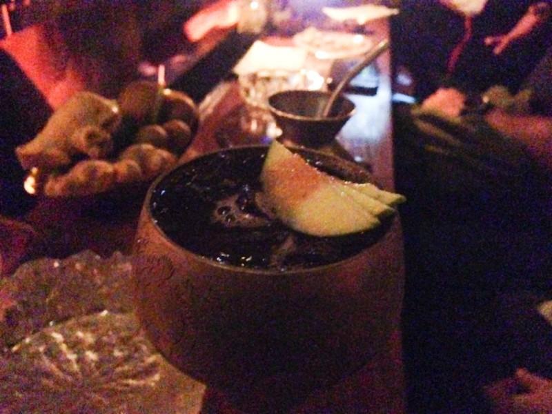 Moonshine bar in Tel Aviv