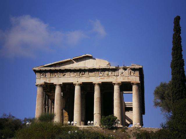 Athens historic sites | www.dtravelsround.com
