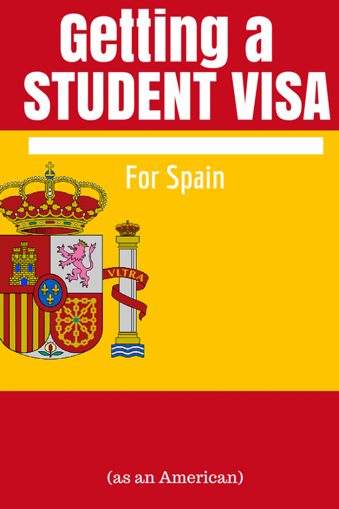Step-by-step tips on how Americans can get a student visa to live in Spain via www.dtravelsround.com