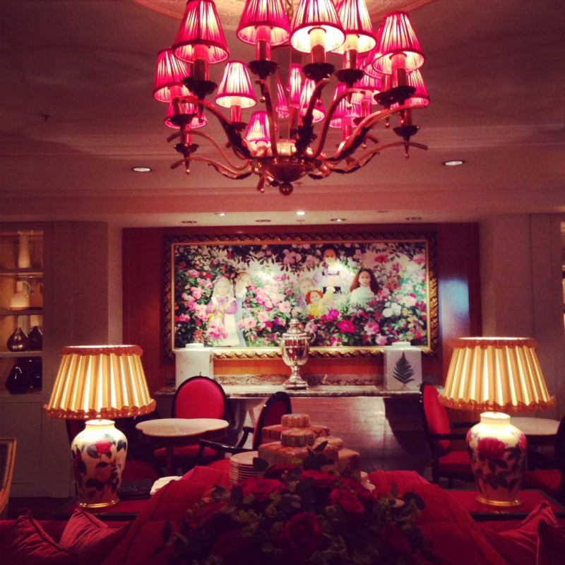 The luxurious Sofitel St. James in London via www.dtravelsround.com