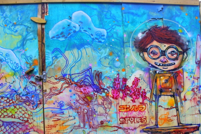 Explore street art in Shoreditch | Cool things to do in London via www.dtravelsround.com