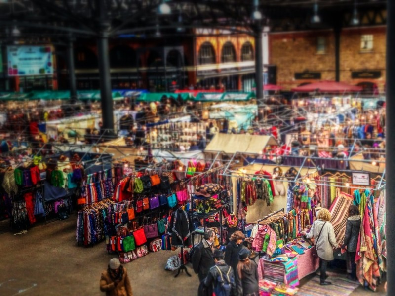 Part vintage, part food, all awesome | Cool things to do in London | Old Spitafields Market via www.dtravelsround.com