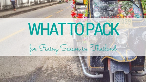 Everything you need to pack to survive rainy season in Thailand and SE Asia from www.dtravelsround.comEverything you need to pack to survive rainy season in Thailand and SE Asia from www.dtravelsround.com