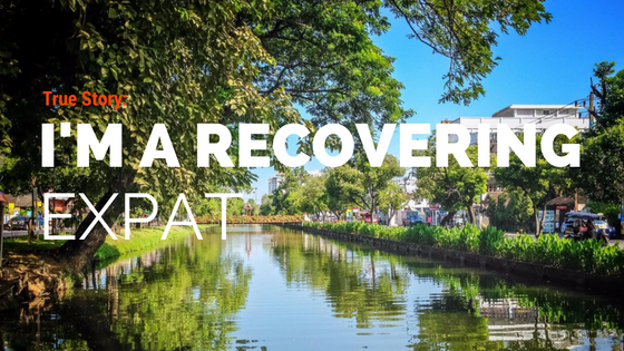What's it like to re-enter after living as an expat? An honest look at returning to life as a recovering expat.